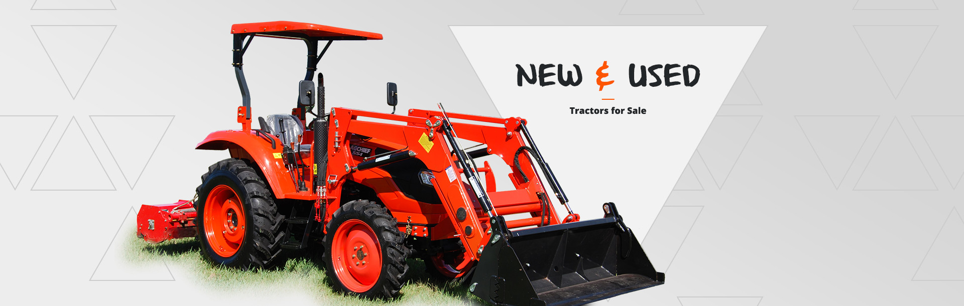 New Kubota tractors for sale